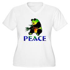 Peace Panda Bear T-Shirt