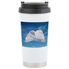 Drying angel's wings. Travel Mug