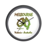 Cool Melbourne Wall Clock