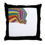 Jaques Confusion Throw Pillow