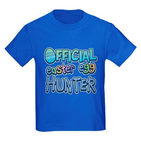 Easter Egg Hunter Kids Dark T-Shirt