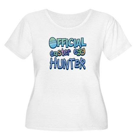 Easter Egg Hunter Women's Plus Size Scoop Neck Tee