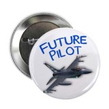 "future pilot (F-16) 2.25"" Button (10 pack)"