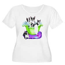 Boston Terrier TubFull T-Shirt
