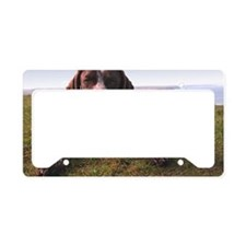 German Shorthair Pointer, dog License Plate Holder