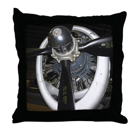 P-47 Throw Pillow