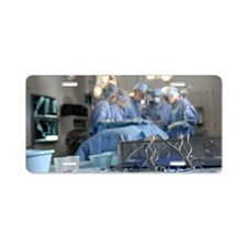 Surgical equipment and surg Aluminum License Plate