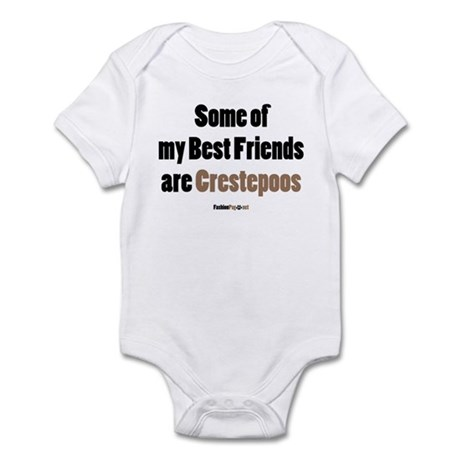 Crestepoo dog Infant Bodysuit
