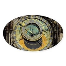 Prague Astronomy Clock Decal