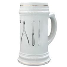 Surgical tools in a row Stein