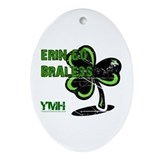 St. Patty's Day - YMH Style Oval Ornament