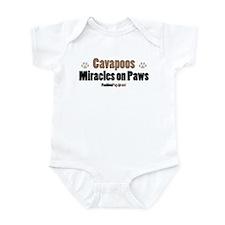 Cavapoo dog Infant Bodysuit