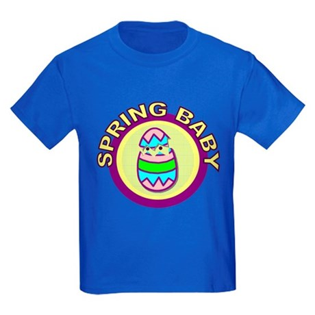 Spring Baby Kids Dark T-Shirt