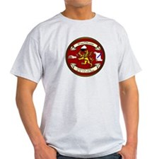 Wine Seal Ash Gray T-shirt