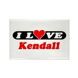 I Love Kendall Rectangle Magnet (100 pack)