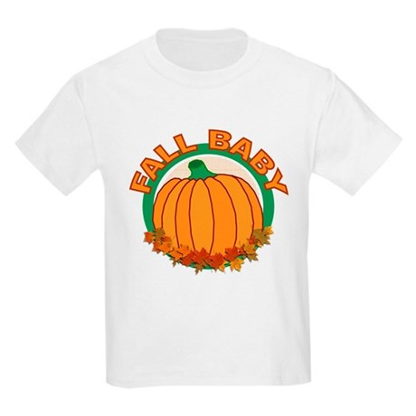 Fall Baby Pumpkin Kids Light T-Shirt