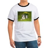 Cute Great dane dog art T
