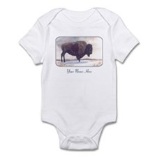 Stands Alone Bison Personalize Body Suit
