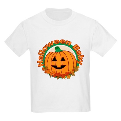 Halloween Baby Kids Light T-Shirt