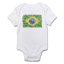 Textual Brasil Infant Bodysuit