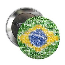 "Textual Brasil 2.25"" Button (10 pack)"