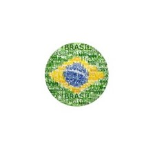 Textual Brasil Mini Button (10 pack)