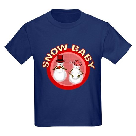 Snow Baby Kids Dark T-Shirt