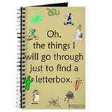 Cute Letter box Journal