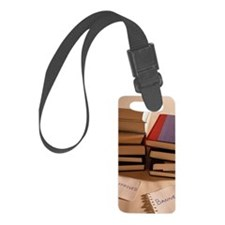 Approved and Banned Books Luggage Tag