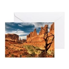 Rock formatrion Greeting Card