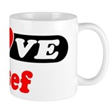 I Love Josef Coffee Mug