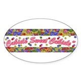 Cubicle Sweet Cubicle Oval Decal