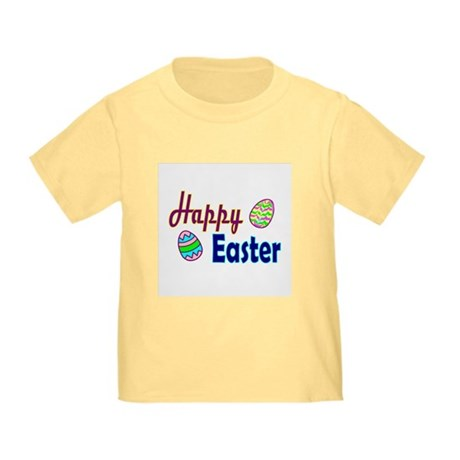 Happy Easter Eggs Toddler T-Shirt