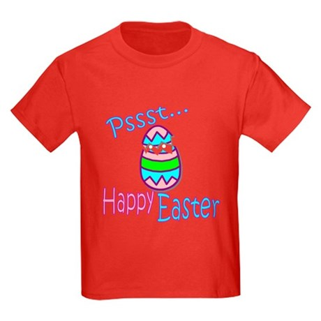 Happy Easter Chick Kids Dark T-Shirt