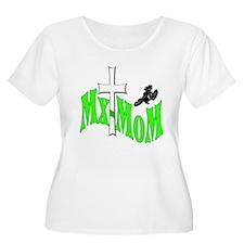 MxMom Kawasaki Women's Plus Size Scoop neck tshirt