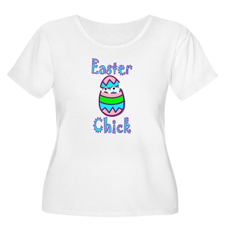 Easter Chick Women's Plus Size Scoop Neck T-Shirt