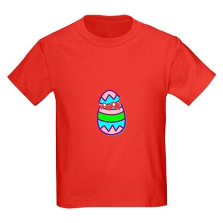 Hatching Chick Kids Dark T-Shirt
