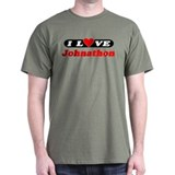 I Love Johnathon T-Shirt