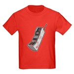 Worn 80's Cellphone Kids Dark T-Shirt