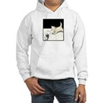 Cat Playing Hooded Sweatshirt