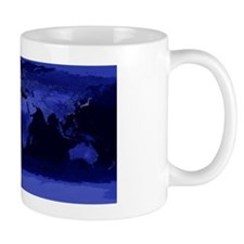 Earth lights at night Mug