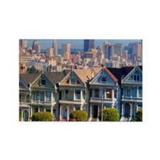 Painted Ladies Rectangle Magnet