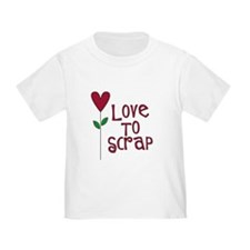 Love to Scrap - Red T