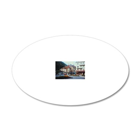 23901073 20x12 Oval Wall Decal