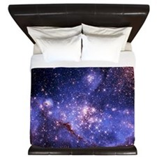 Stars and Milky Way King Duvet