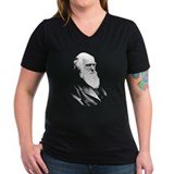 Women's V-Neck Darwin T-Shirt