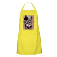 Portrait puppy Apron