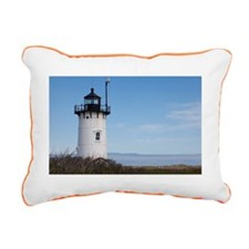 Race Point Lighthouse Rectangular Canvas Pillow