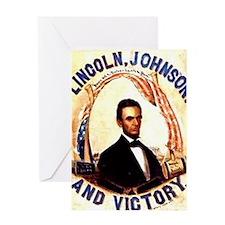 Lincoln Johnson Greeting Card