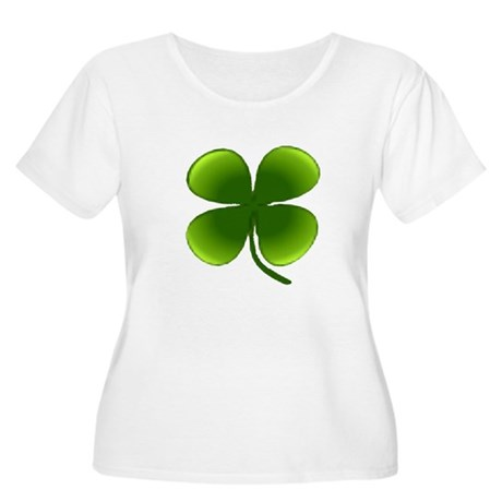 Shamrock Women's Plus Size Scoop Neck T-Shirt